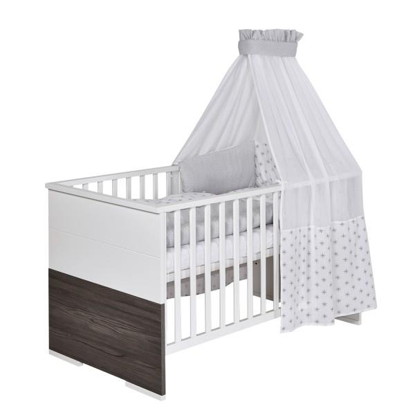 Baby Bettwäsche 4 Teiliges Set Design Ice Crystal Möbel Stellbrink