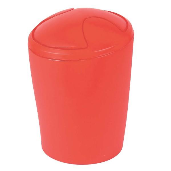Abfalleimer Move - Rot 2 Liter