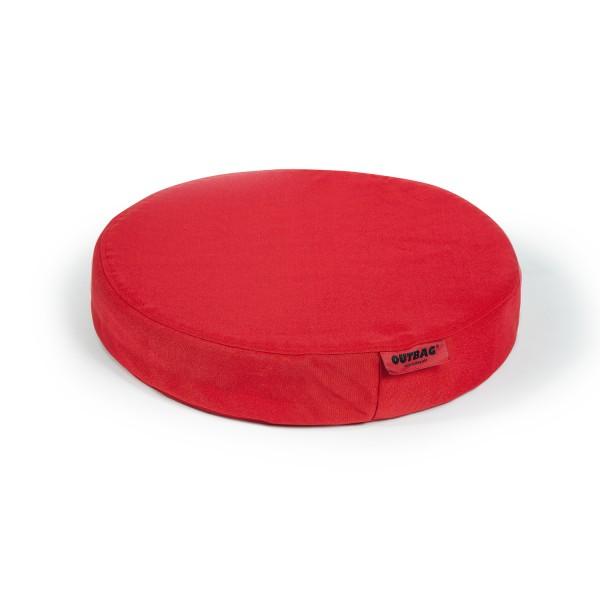 Outbag Stuhlkissen Disk - Bezug Plus Rot