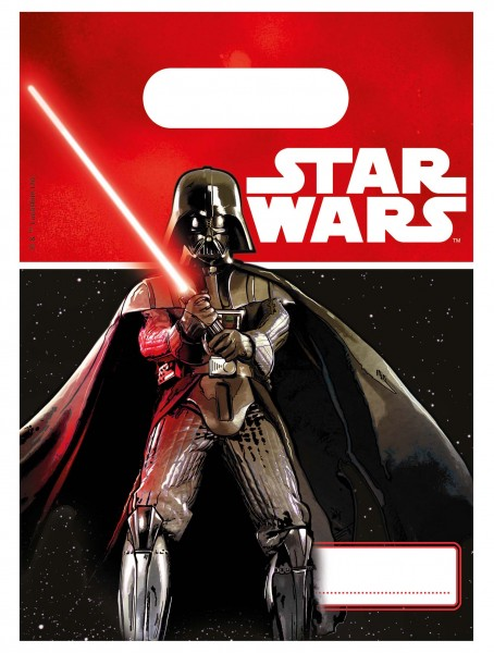Geschenktüte Star Wars 4 Stück