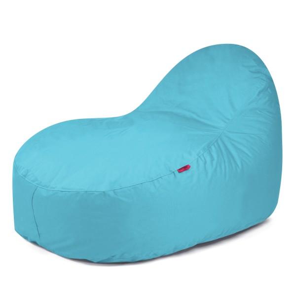 Outbag - Outdoor Sitzsack - Liegesack Slope XL - Bezug Plus Aqua - wetterfest