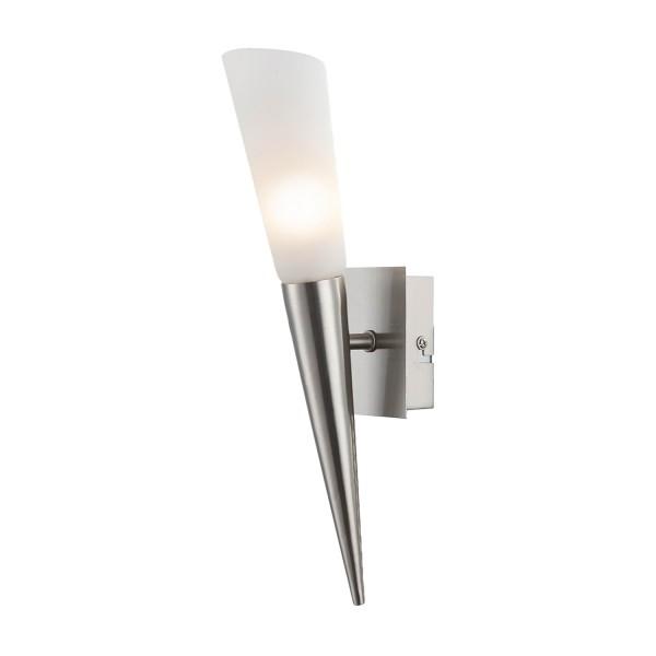 Riverpool - LED-Wandleuchte - 1-flammig - Nickel matt