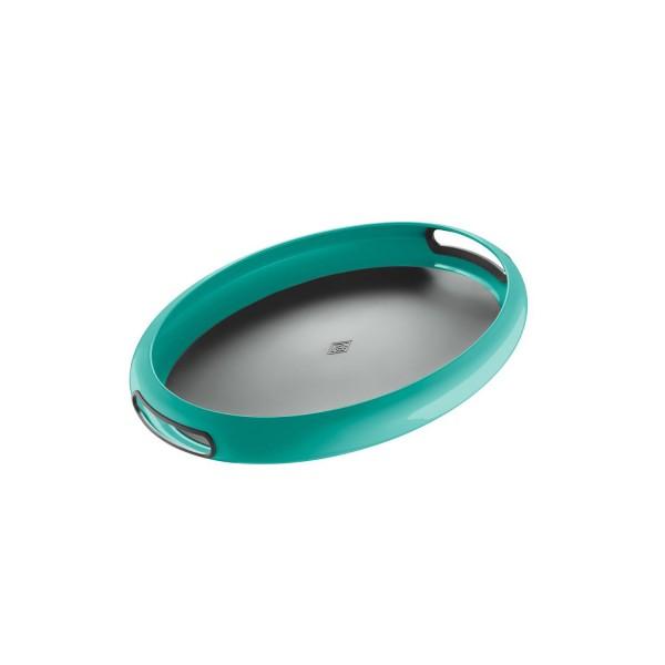 Wesco Tablett - Spacy Tray oval - Türkis
