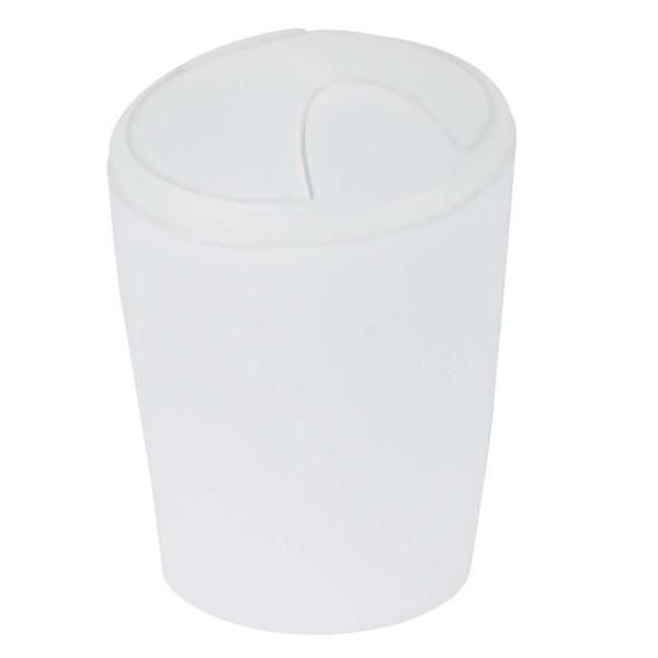 Abfalleimer Move - Frosty Weiß 2 Liter