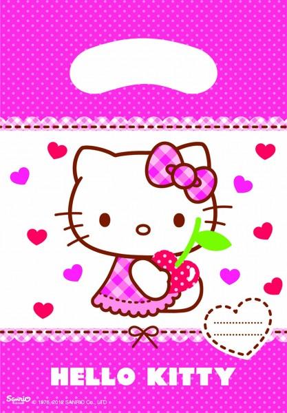 Geschenktüte Hello Kitty 6 Stück