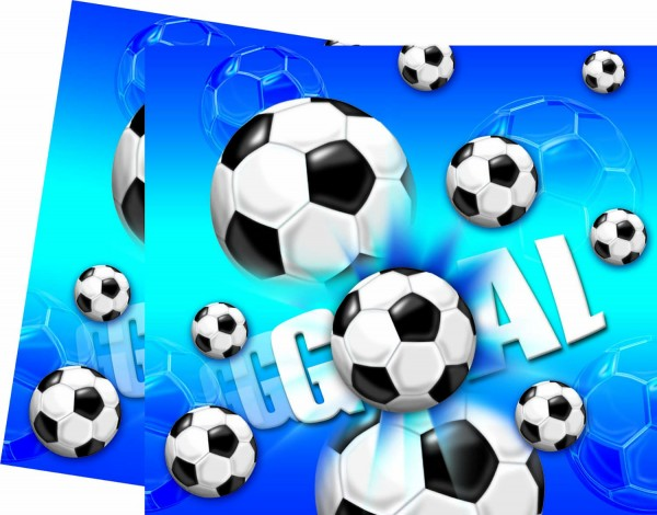 Tischdecke Football 120x180cm