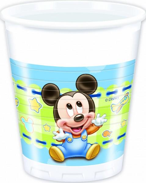 Trinkbecher Baby Mickey 8 Stück 200ml