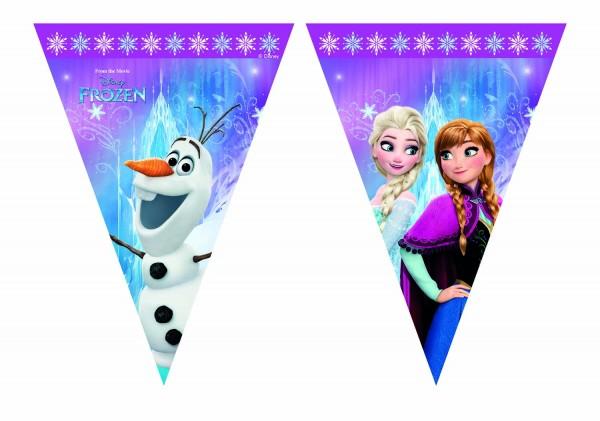 Wimpelgirlande Frozen 230cm