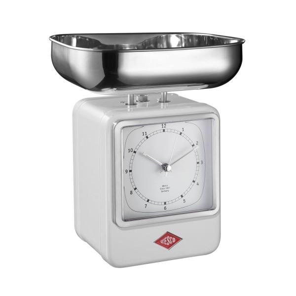Wesco Küchenwaage Retrolook - Weiß