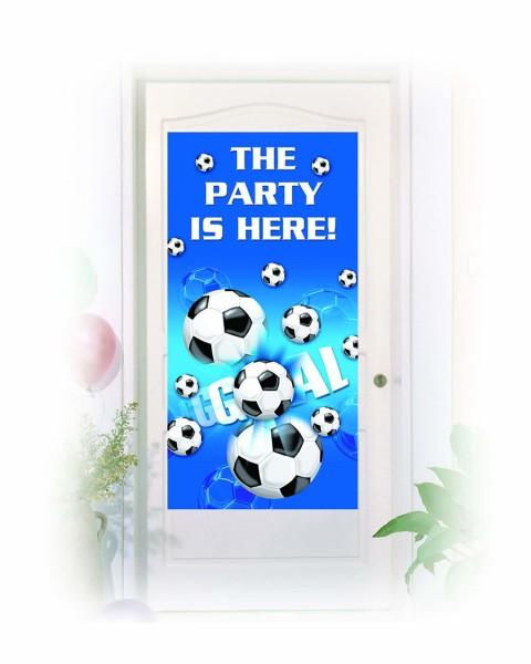 Türposter Fußball 76x152 cm