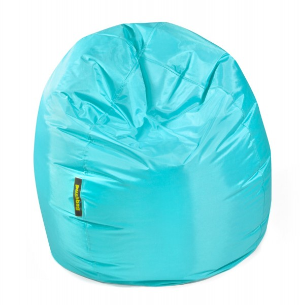 Pushbag - Sitzsack Bag 300 - Bezug Oxford in Aqua - 70cm