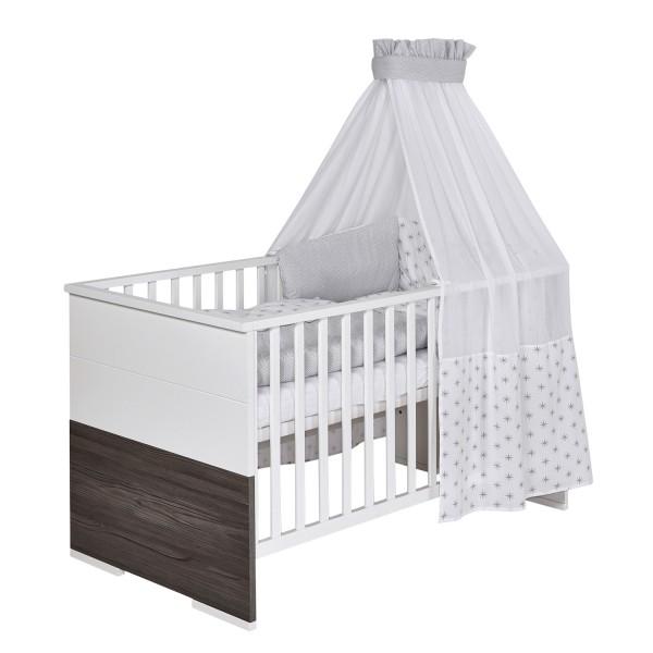 Maxx Fleetwood - Kombi-Kinderbett 70 x 140cm - Dekor Weiß