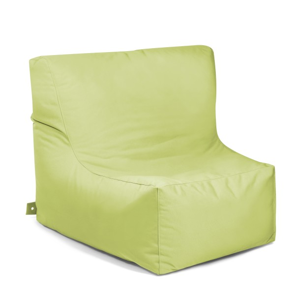 Outbag - Outdoor Sitzsack - Sessel Piece - Bezug Plus Limettengrün - wetterfest