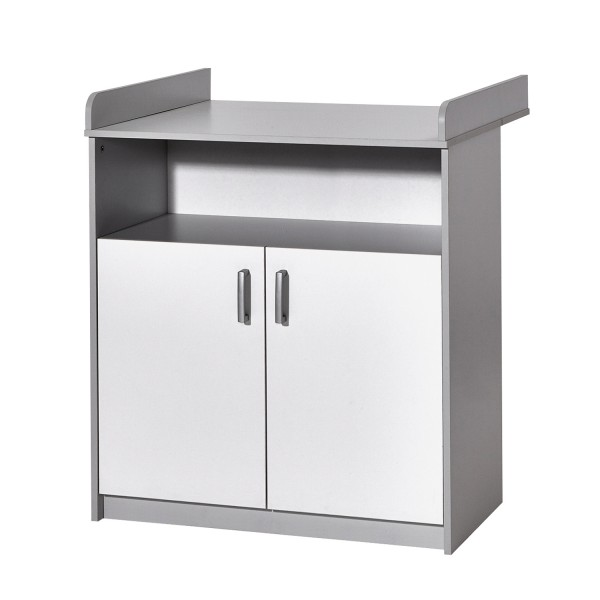 Classic Grey - Wickelkommode - Dekor Grau