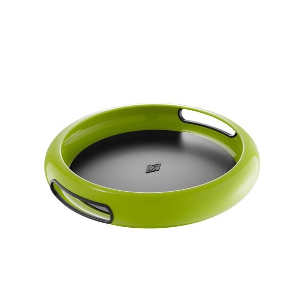 Wesco Tablett - Spacy Tray rund - Limettengrün