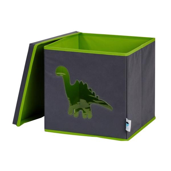Pico Mundo - Spielzeugkiste - Dino - grau