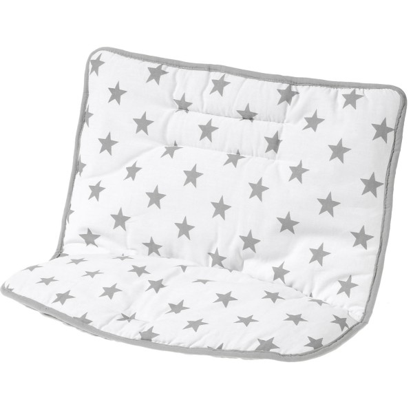 Domino - Sitzkissen - Design Big Stars grey