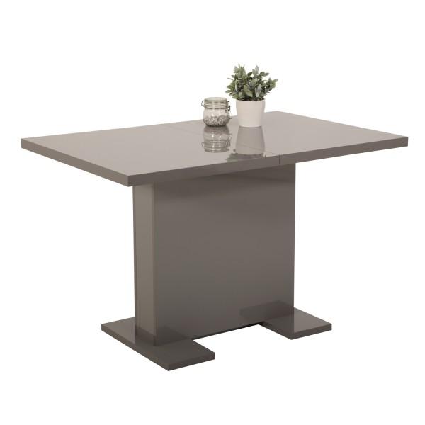 esstisch grau design esstisch hem grau wei hochglanz. Black Bedroom Furniture Sets. Home Design Ideas