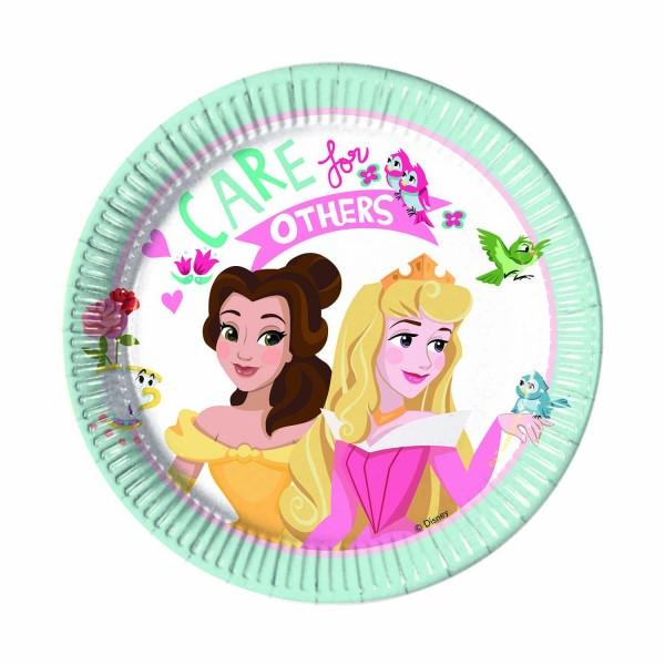 Pappteller Princess Ø 20cm 8 Stück