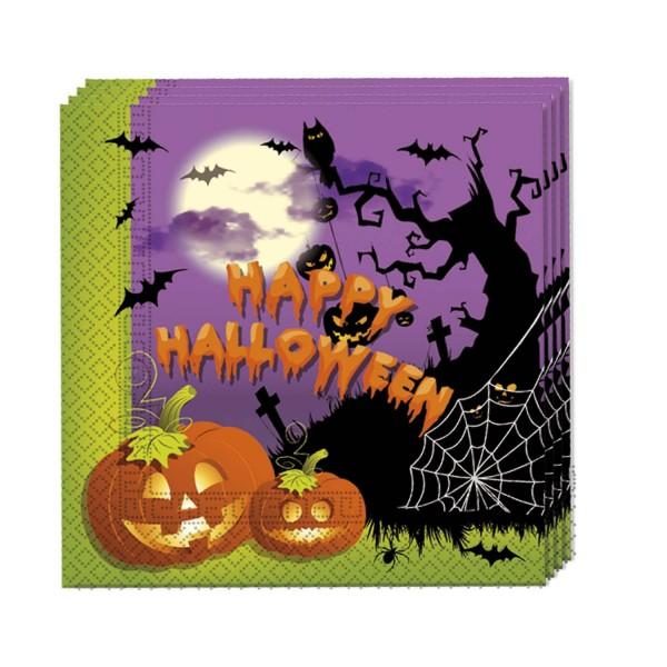 Servietten Halloween 33x 33cm