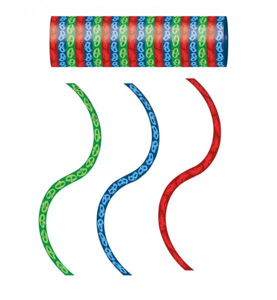 Luftschlangen PJ MASKS 3 Stück