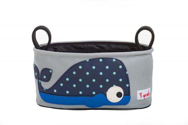 3 Sprouts - Kinderwagentasche Wal