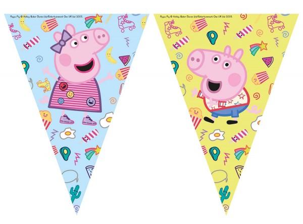 Wimpelgirlande Peppa Pig 230cm