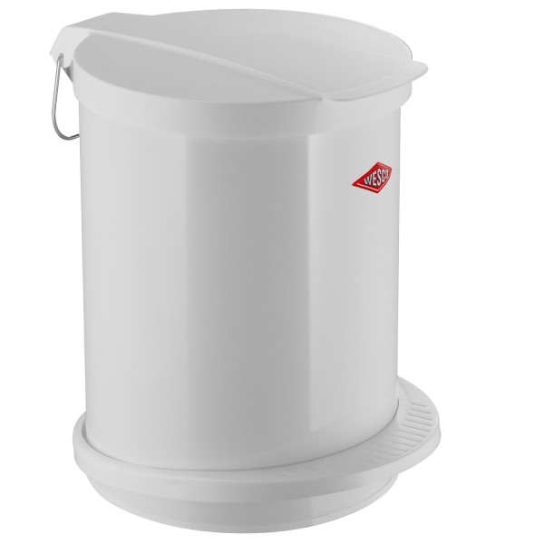 Wesco Mülleimer - 13 Liter - Weiß