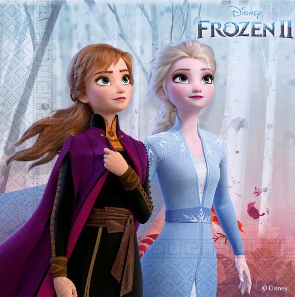 Servietten Frozen II 16 Stück