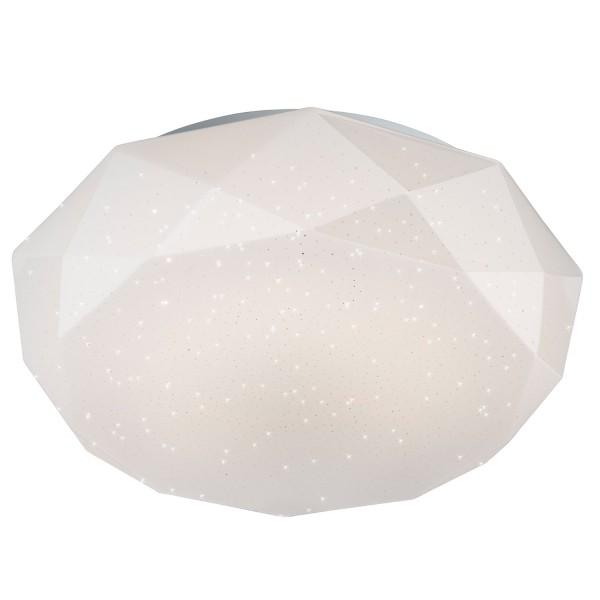 Diamond - LED Deckenleuchte - Kunststoff Weiss - Diamond shade - Durchmesser 41 cm
