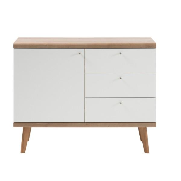 Kommode Merle - Skandinavisches Design - Eiche Riviera