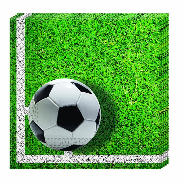 Servietten Fußball 20 Stück