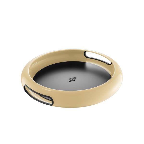 Wesco Tablett - Spacy Tray rund - Mandel