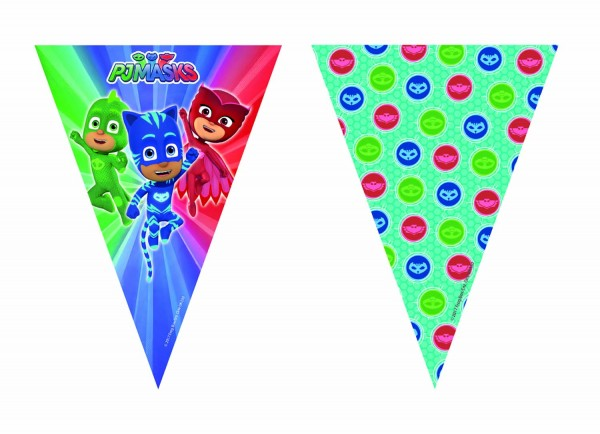 Partygirlande PJ MASKS 230 x 25 cm