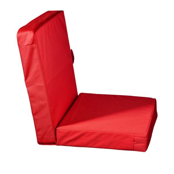 Outbag Stuhlkissen Lowrise - Bezug Plus Rot