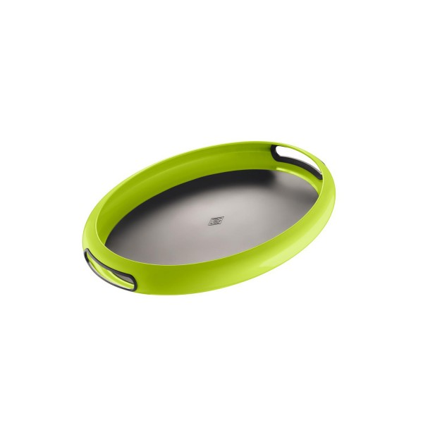 Wesco Tablett - Spacy Tray oval - Limettengrün