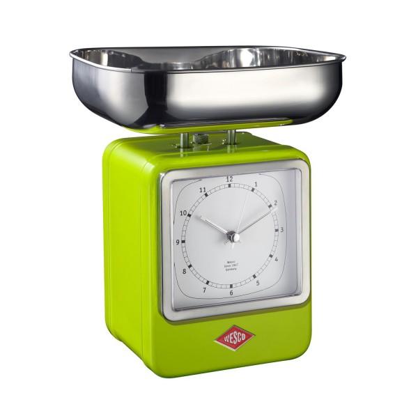 Wesco Küchenwaage Retrolook - Limettengrün