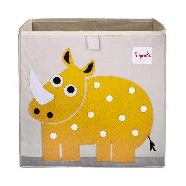 3 Sprouts - Aufbewahrungsbox Nashorn