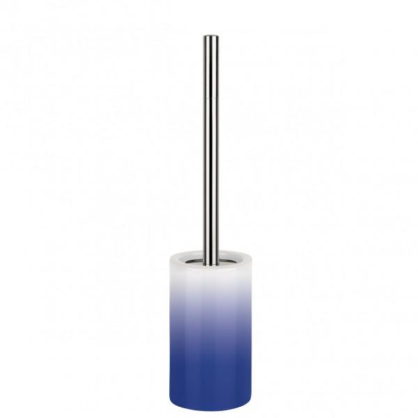 WC-Bürste Tube-Gradient - Blau/Weiß
