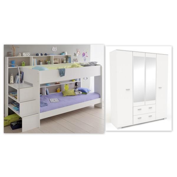 Parisot - Kinderzimmer Bibop - Weiß - Variante 6