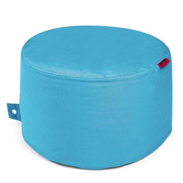 Outbag - Outdoor Sitzsack - Hocker Rock - Bezug Plus Aqua - wetterfest