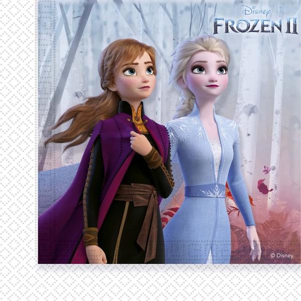 Servietten Frozen II 20 Stück