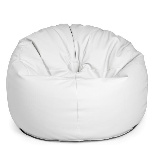 Outbag - Outdoor Sitzsack - Sessel Donut - Bezug Light Weiß - wetterfest
