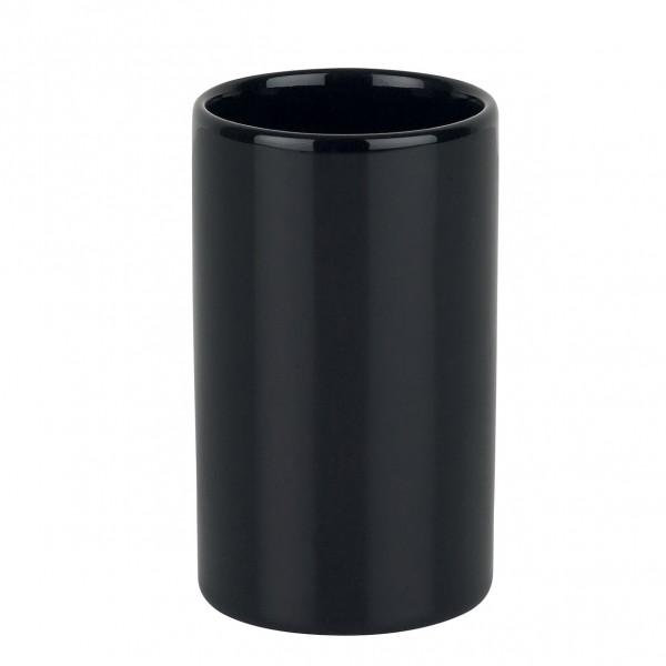 Zahnputzbecher Tube - schwarz