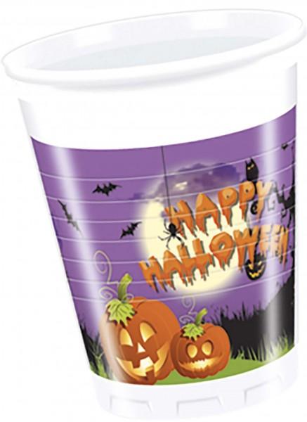 Trinkbecher Halloween 8 Stück