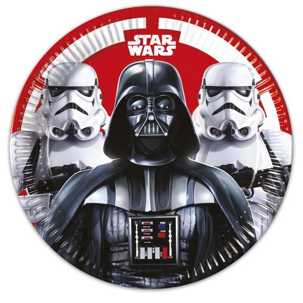 Pappteller Star Wars Ø23 8 Stück