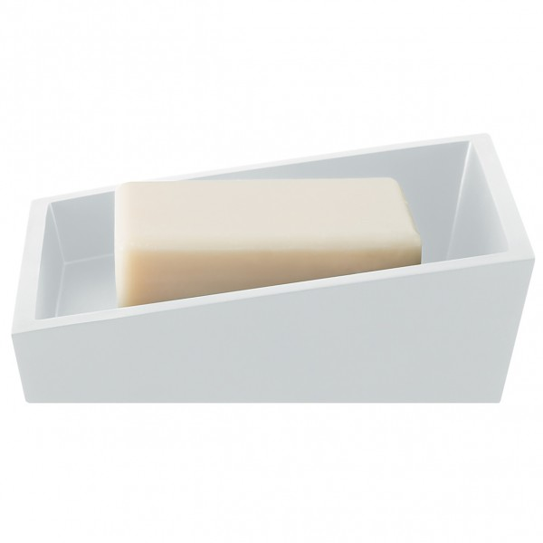 Seifenschale Yoshi - matt-weiß