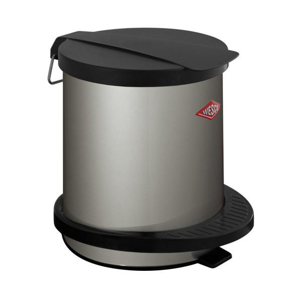 Wesco Abfallsammler - 5 Liter - Neusilber