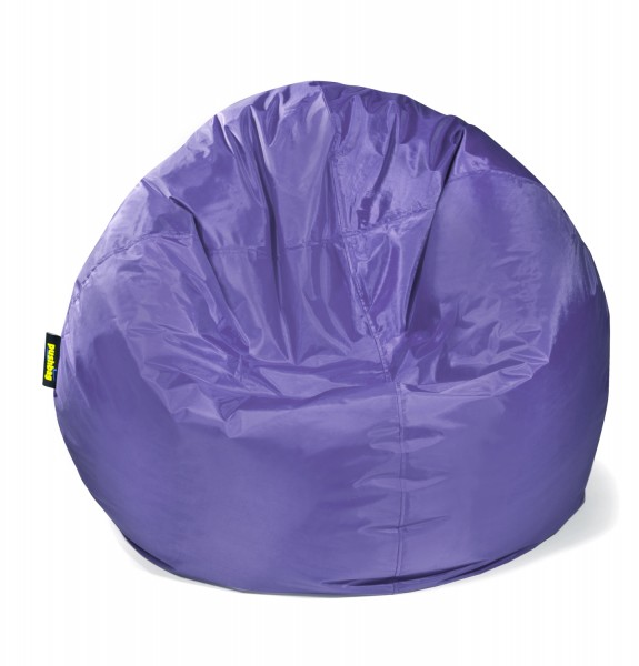 Pushbag - Sitzsack Bag 500 - Bezug Oxford in Violett - 90cm
