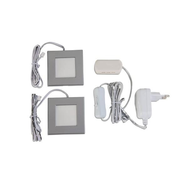 2er Set - LED - Cabinet - Unterbauleuchte